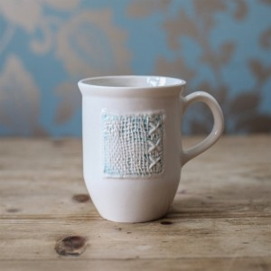 Panel cup - blue
