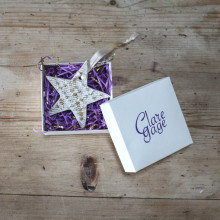 Beautiful Hand-made Limited Edition Festive Pieces by Clare Gage