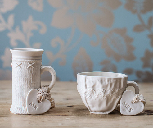 His & Hers Cup Set