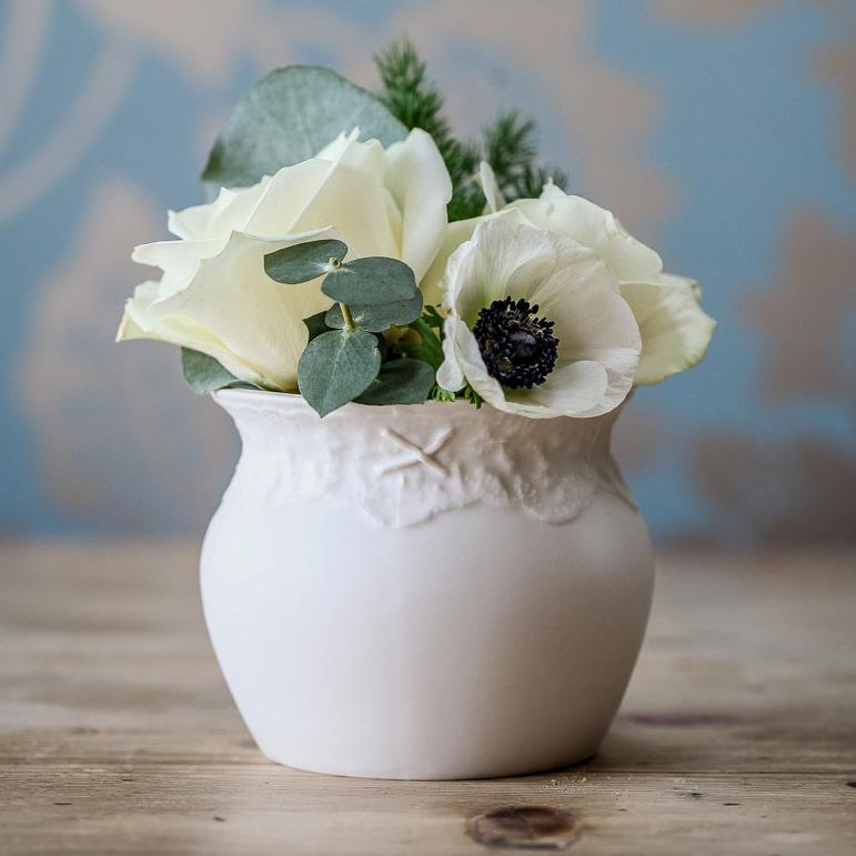 Lace Posy Vase