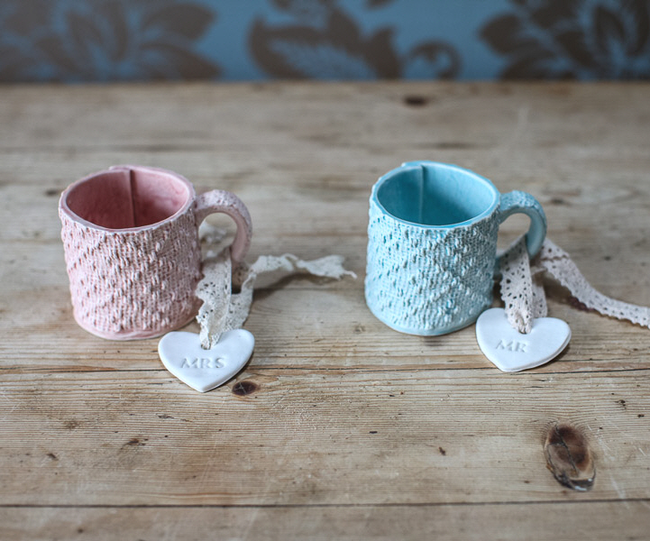 Mr % Mrs Mug set