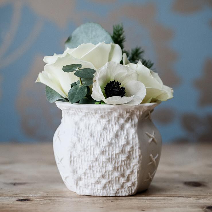 Panel Posy Vase