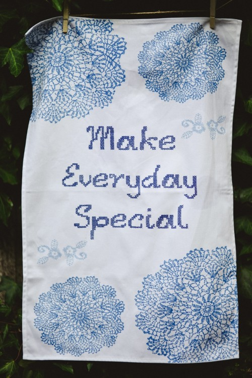 Make Everyday Special Tea Towel Clare Gage