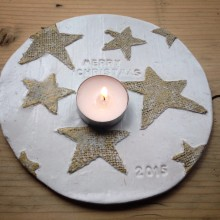 Clare Gage Makes: Christmas Table Centre Decoration